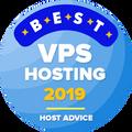 최고 vps 호스팅 카테고리에 대한 상위 10위 내의 회사에게 수상되었습니다.